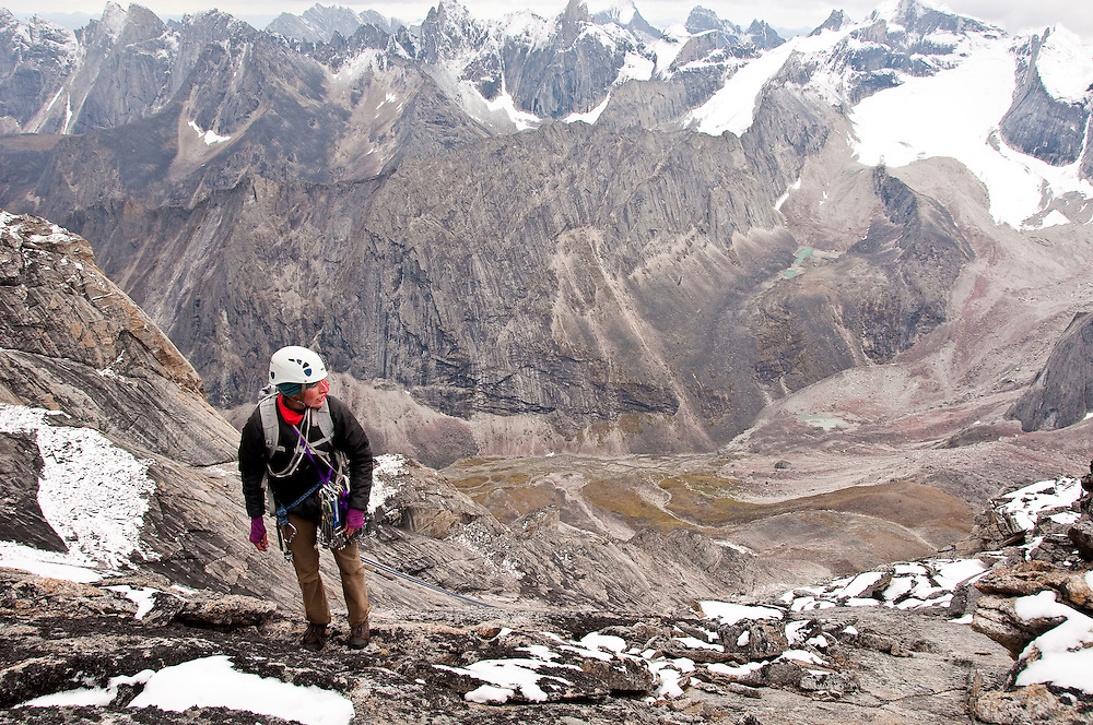 Cortney Kitchen, Arrigetch Peaks, Brooks Range, AK