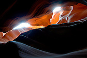 Upper Antelope Canyon, Page, Arizona.