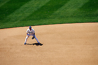 9 May 2009: Third baseman Casey Blake during  the MLB Los Angeles Dodgers 8-0 shut out over the San Francisco Giants in game 32 of the National League regular season. Weather was sunny and 73', they played infront of 41,425 fans on Saturday.