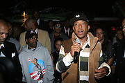 "Russell Simmons at The Russell Simmons and Spike Lee  co-hosted ""I AM C.H.A.N.G.E!"" Get out the Vote Party presented by The Source Magazine and The HipHop Summit Action Network held at Home on October 30, 2008 in New York City"