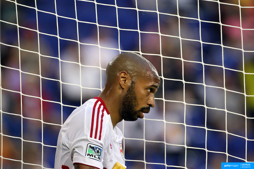 New York Red Bulls player Thierry Henry during the New York Red Bulls V Chivas USA Major League Soccer match at Red Bull Arena, Harrison, New Jersey, 23rd May 2012. Photo Tim Clayton