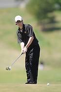 Oxford High golfer Ryan York at District Golf Tournament at Oxford Country Club on Tuesday, April 20, 2010 in Oxford, Miss.