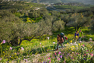 Hiking the Abraham Path around Jenin over the West Bank of Palestine