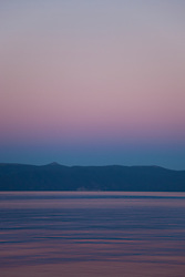 """Sunset at Lake Tahoe 8"" - This peaceful sunset was photographed from the West shore of Lake Tahoe, California."