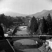 1957 - Views of Lourdes, France