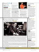 """Esquire's Favorite Bartender: Renato"", Esquire Magazine, June 2006"
