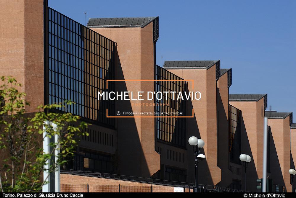 Torino,  Palazzo di Giustizia Bruno Caccia in corso Vittorio....