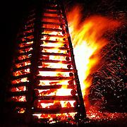 Christmas Bonfire, Gramercy, LA