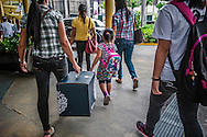 A day out shopping in the upscale Serendra Plaza in Bonifacio Global City.  Manila Philippines.