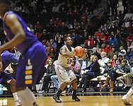 "Ole Miss' Jarvis Summers (32) vs. Lipscomb at the CM. ""Tad"" Smith Coliseum in Oxford, Miss. on Friday, November 23, 2012."