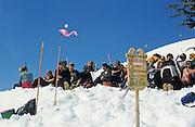 Alaska. Alaska. Girdwood. Chugach mountains. Alyeska Resort, a world class ski resort. The Crows Nest is a popular local hang out in the glacier carved bowl of Mt Alyeska.