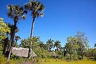 Farm houses in the Bartolome Maso area, Granma, Cuba.