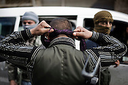 SYRIA - Al Qsair. Free Syrian Army fighter is seen in Al Qsair, on February 24, 2012. ALESSIO ROMENZI