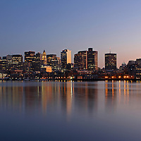 Boston Night Skyline photography images are available as museum quality photography prints, canvas prints, acrylic prints or metal prints. Prints may be framed and matted to the individual liking and decorating needs:<br />
