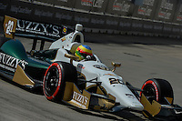 Mike Conway, Shell Houston GP, Reliant Park, Houston, TX USA 6/29/2014