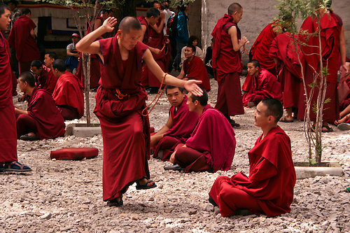 Tibetan Monks' Costumes