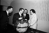 1965 - Bord Iascaigh Mhara draw at BIM offices, Mount Street, Dublin