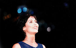 Natalie Imbruglia at plays the NME Tent at T in the Park 6th July 1998, at Balado, Fife...