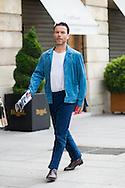 Blue Suede Jacket, Outside Schiaparelli