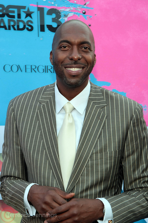 "Los Angeles, CA-June 29:  Former NBA Player/Commentor John Salley attends the Seventh Annual "" Pre "" Dinner celebrating BET Awards hosted by BET Network/CEO Debra L. Lee held at Miulk Studios on June 29, 2013 in Los Angeles, CA. © Terrence Jennings"