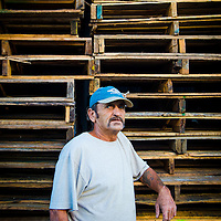 10/28/14 5:53:09 PM -- Cortez, FL, U.S.A  -- John Yates, a former commercial fisherman who was convicted under a major federal document-shredding statute for throwing undersized grouper overboard.  --    Photo by Chip J Litherland, Freelance