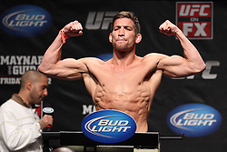 Atlantic City, NJ - June 21, 2012: Sam Stout at the weigh-ins for UFC on FX 4 at Ovation Hall at Revel Resort & Casino in Atlantic City, New Jersey.