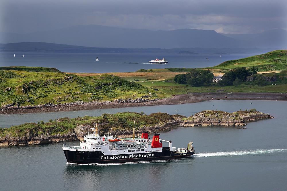 M.V.Hebridean Isles, Sound of Kerrera, Argyll
