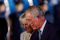 OCT 28 2014 Prince Charles and Duchess of Cornwall arrive in Bogota