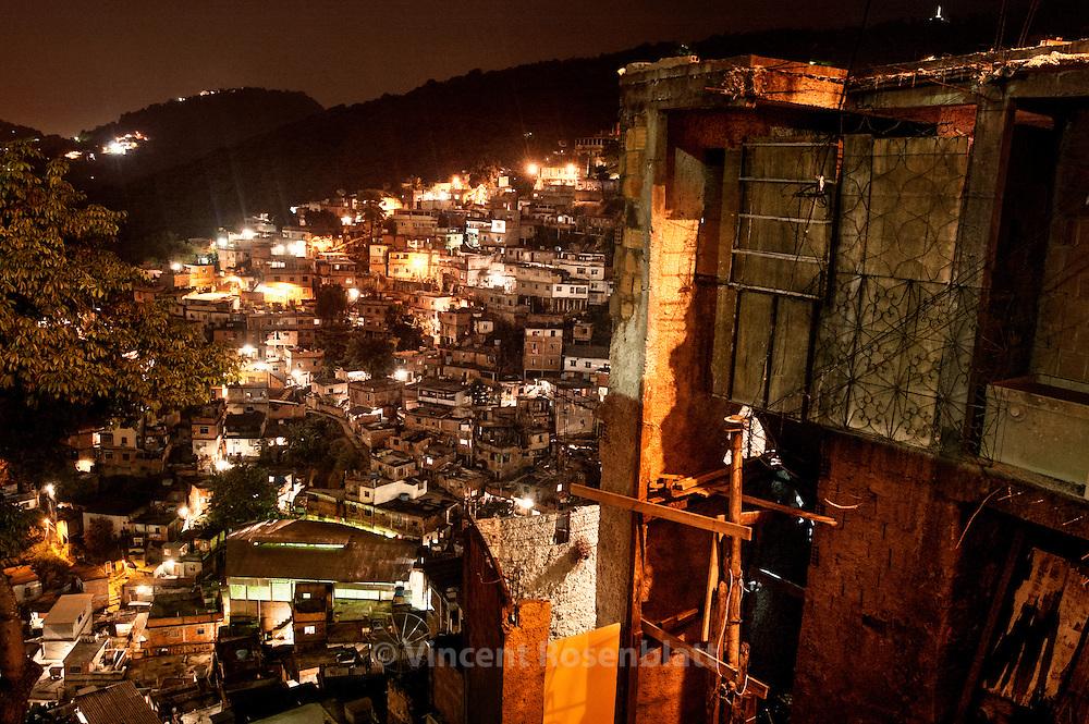 Favela  Morro do Turano, in the borough Rio Comprido, Northern Zone, Rio de Janeiro..