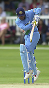.24/06/2002.Sport - Cricket - .One day game 50 overs - Kent CC vs India.St Lawrence Ground - Canterbury.Virender Sehwag