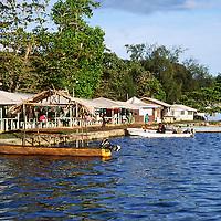 Village market on Gizo, Solomon Islands