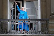 16-4-2016  COPENHAGEN - Queen Margrethe, Prince Henrik, Crownprince Frederik, Crownprincess Mary, Prince Christian,  Princess Josephine of Denmark, Princess Isabella of Denmark, Prince Vincent of Denmark, Prince Christian of Denmark, Prince Nikolai of Denmark, Prince Felix of Denmark, Princess Athena of Denmark Princess Isabella, Prince Joachim, Princess Marie, Prince Nikolai, Prince Felix and Prince Henrik jr celebrate the 76th Birthday of Queen Margrethe and wave to the danish people at the balcony of Amalienborg Palace in Copenhagen, 16 April 2016. COPYRIGHT ROBIN UTRECHT<br /> 16-4-2016 KOPENHAGEN - Koningin Margrethe, Prins Henrik, kroonprins Frederik, Kroonprinses Mary, prins Christian, prinses Isabella, prins Joachim, Prinses Marie, Prins Nikolai, Prins Felix en prins Henrik jr viert de 76ste verjaardag van koningin Margrethe en zwaaien naar de deense mensen op het balkon van Paleis Amalienborg in Kopenhagen, 16 april 2016. COPYRIGHT ROBIN UTRECHT