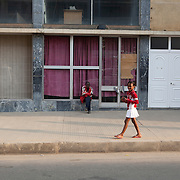 26 September 2011, Lubango, Angola. General street scenes of life in the Provincial capital.