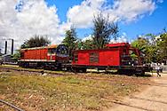 Train in Jesus Menendez, Las Tunas, Cuba.
