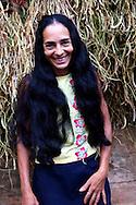 Woman on a farm in Vega Yumuri, near La Maquina, Guantanamo Province, Cuba.
