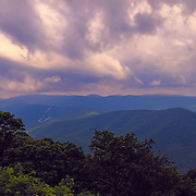 &quot;Glory on the Blue Ridge&quot;<br /> <br /> Glorious clouds above the beautiful Blue Ridge Mountains of Virginia!