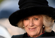 DEC 09 2013 The Duchess of Cornwall at Bulford Barracks, Wiltshire