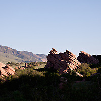 Red Rocks in the South Valley Park Ken-Caryl Ranch Open Space in Colorado.