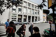 PISA. IL PALAZZO DEL DIPARTIMENTO DI MATEMATICA DELL'UNIVERSITA' DI PISA