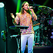 Jon Davison of Yes performing at ACL Live, Austin, Texas, March 14, 2013.