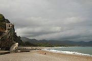 Turkey, Antalya Province, The beach at Olympos National Park
