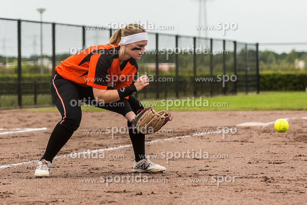 Netherland vs Israel during XIX European Softball Fastpitch  Championship Women, on July 20, 2015 in Rosmalen,  Netherlands. Photo by Grega Valancic / Sportida