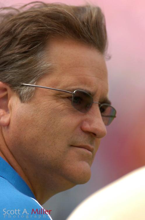 TAMPA FL, Oct 2 2005 -- Detroit Lions coach Steve Mariucci in action at Raymond James Stadium...© 2005 Scott A. Miller..©2005 Scott A. Miller
