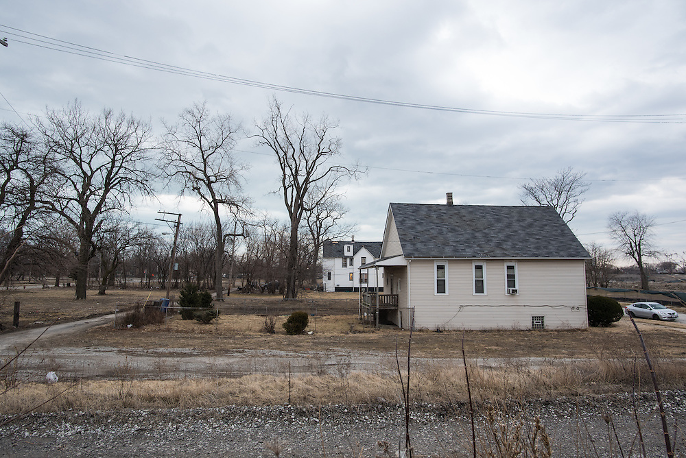 Margaret Bonnett's home is one of a handful still standing in this northern section of Englewood.