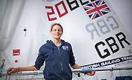 Team GBR Olympic sailor Alison Young pictured on day one of the ISAF Sailing World Cup at the Weymouth and Portland National Sailing Academy, Weymouth. PRESS ASSOCIATION Photo. Picture date: Wednesday June 8, 2016. See PA story SAILING World Cup. Photo credit should read: Chris Ison/PA Wire.