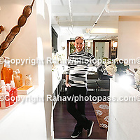 Fashion consultant and expert Robert Verdi at his Chelsea studios on West 30th street. Photographed on September 4, 2008. .Dream Jobs