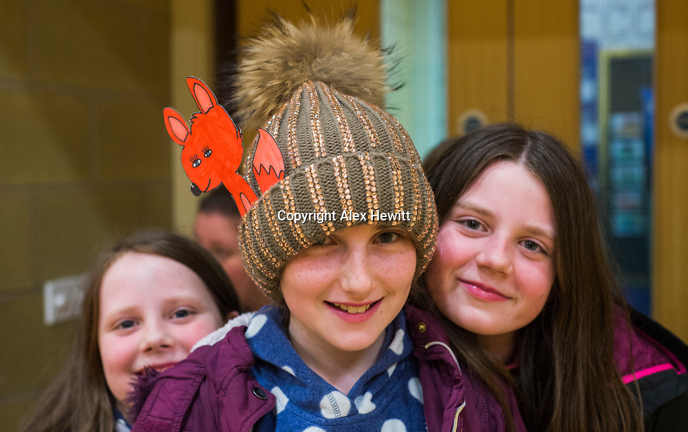 Bo'Ness Hippodrome Festival of Silent Cinema 2017<br /> <br /> Schools workshop at Dearborn primary school<br /> <br /> picture by Alex Hewitt<br /> alex.hewitt@gmail.com<br /> 07789 871 540