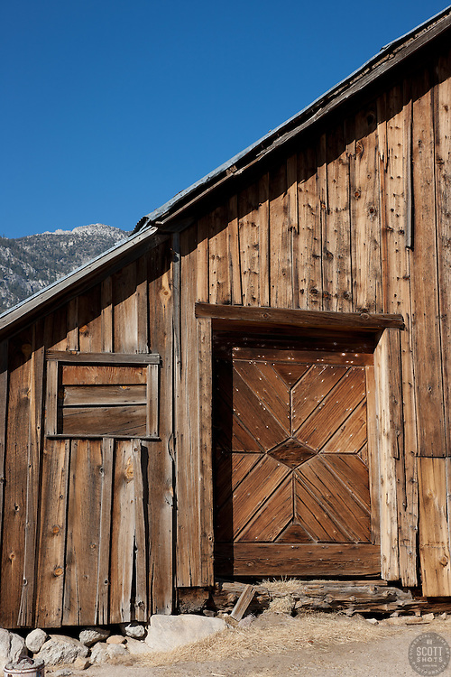 """Old Barn in Nevada 1"" - This old barn was photographed in Nevada."