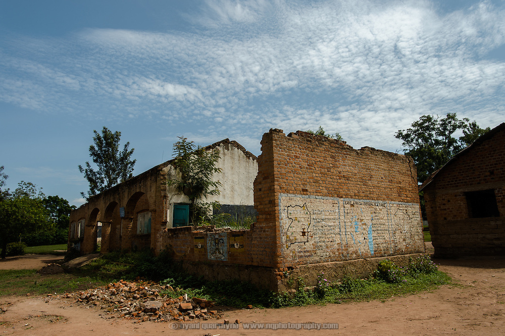 A school building in dire need of repair at Achilet Primary School near Tororo in Eastern Uganda on 1 August 2014.