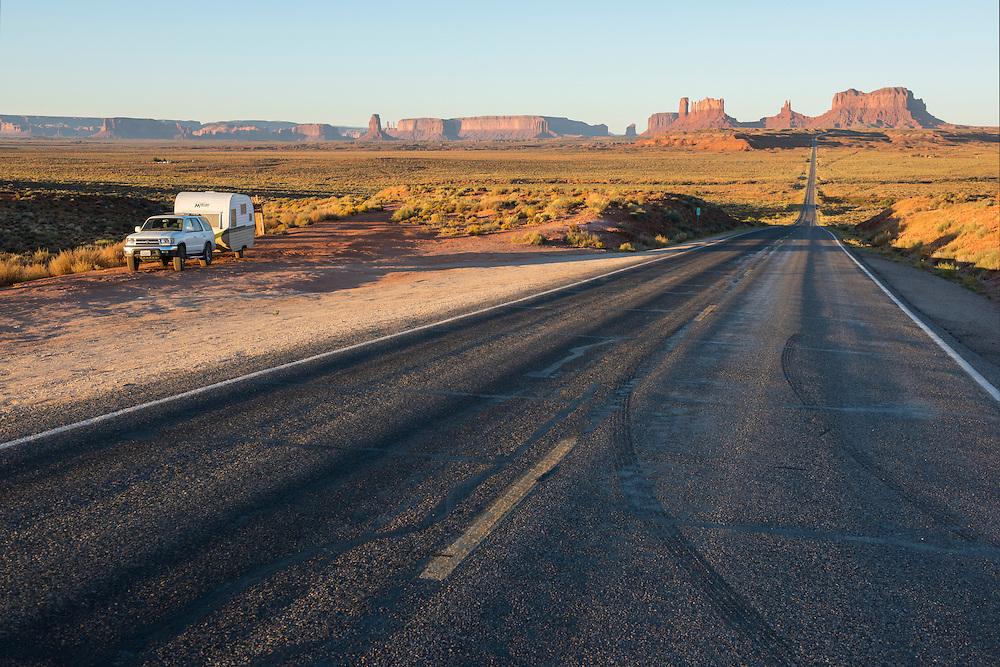 USA, Southwest, Arizona,Navajo Indian reservation, Monument Valley, Tribal park